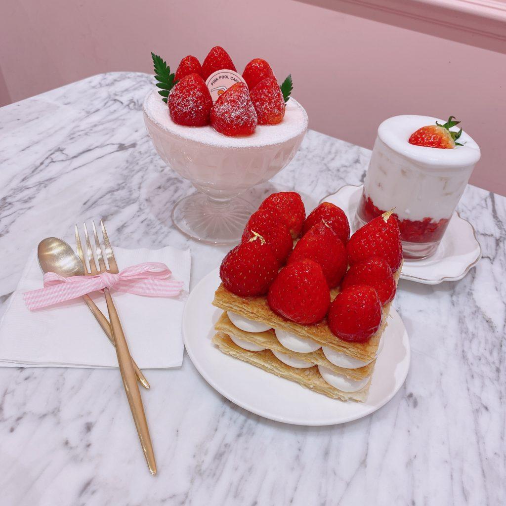 ♡カフェ紹介♡ PINK POOL CAFE【韓国・弘大】