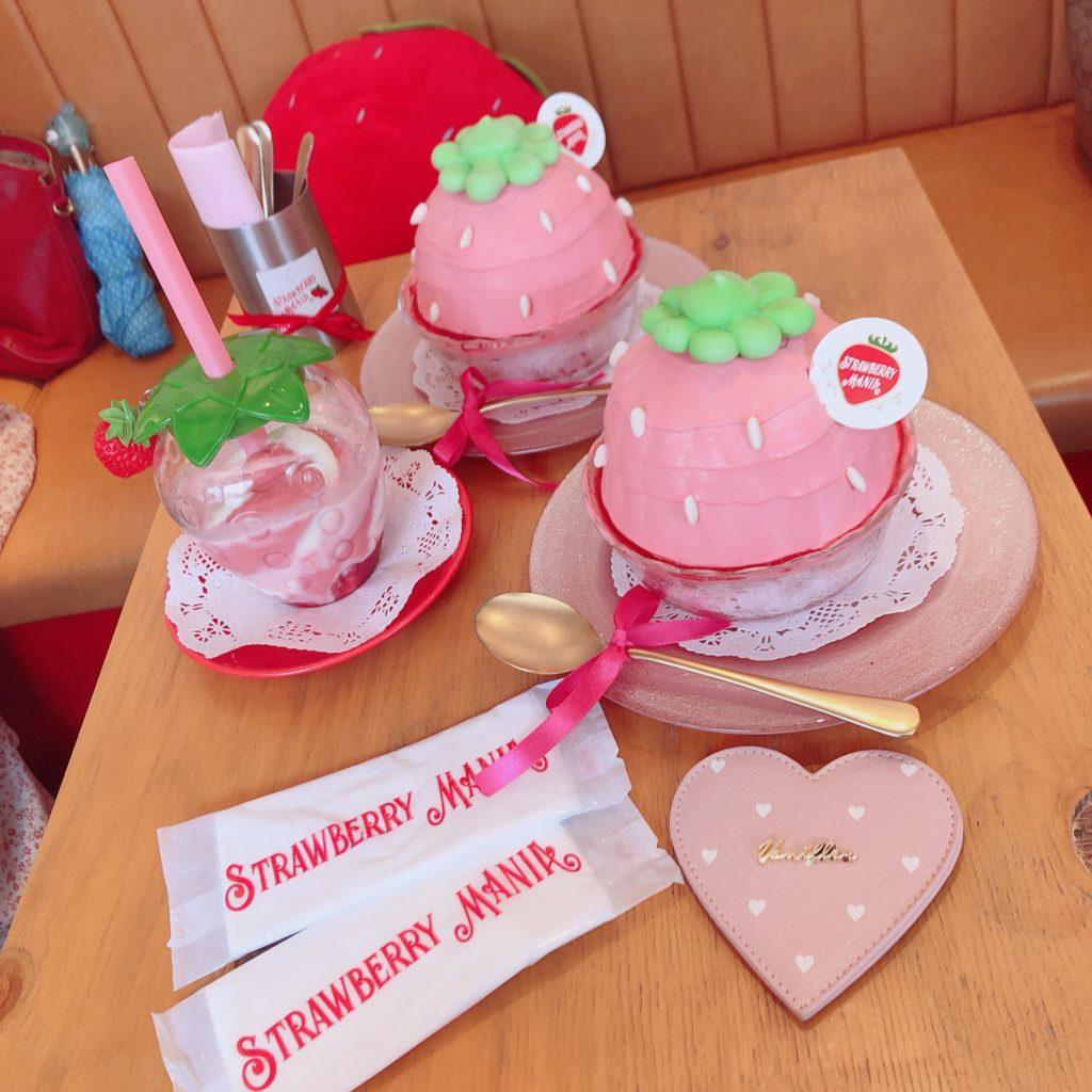 ♡カフェ紹介♡ STRAWBERRY MANIA【東京・原宿】